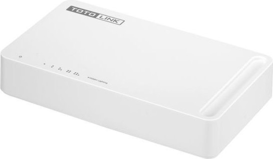 TOTOLINK S505 - 5-Port 10 100Mbps Desktop Switch