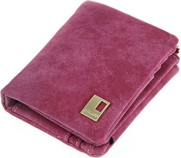 Fashion Girls' Polished Short Chain Wallet - Pink
