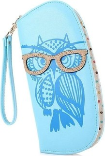 MINI Ladies Zipper Wallet - Blue