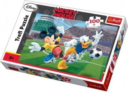 Trefl 16122 Football Games Disney Standard Characters 100 Pieces