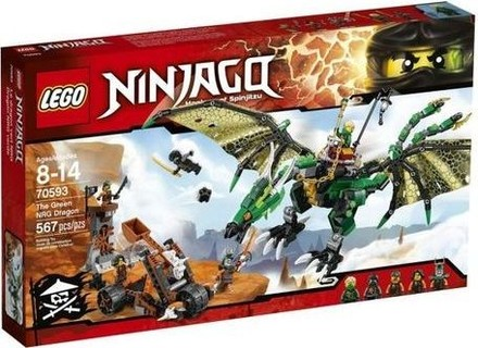 Lego 70593 The Green NRG Dragon Building Kit - 567 Pcs