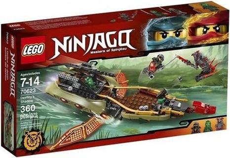 Lego 70623 Ninjago Destiny's Shadow - 360 Pcs