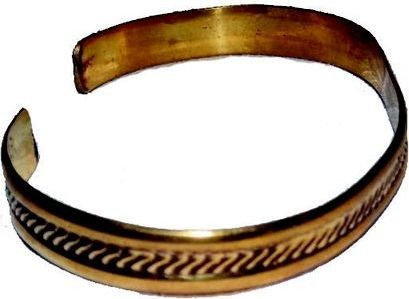 Golden 181817 Therapy Copper Bracelet - Gold