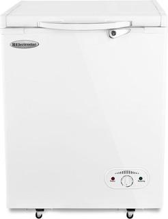Electrostar Freestanding Chest Freezer, 140 L, Stainless Steel - ES140ST