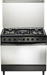 Universal Iron Cooker 90 60 5 Burners Iron Cast Safety & Fan: T-75 9605