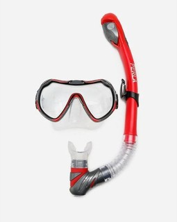 0 Arabiya Marine PERLA Diving Mask Set - Red
