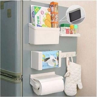 As Seen on TV Magnetic Refrigerator Shelf Storage Rack Set