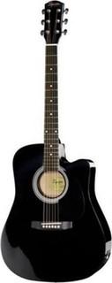 Fender Squier SA-105ce Electro-Acoustic Guitar - Black
