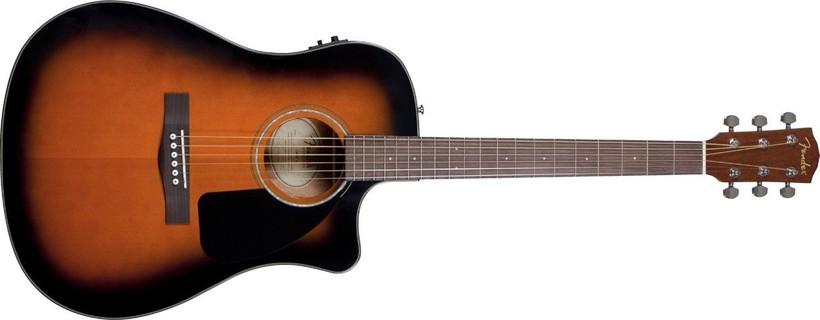 Fender Folk CD60CE SB Preamp