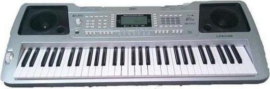Gawharet El-Fan LP6110E Oriental Arabic Keyboard - Silver