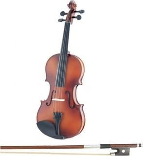 Ach MV012 practice violin mate color with case and bow