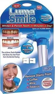 As Seen on TV Luma Smile Whitener and Teeth Polisher - Blue