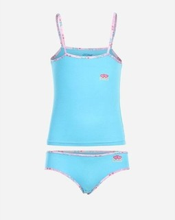 Cottonil Set of Sleeveless Top & Panty - Baby Blue
