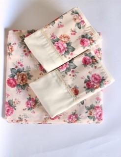 0 Nanies Patchwork Fitted Bed Sheet + 2 Pillow Covers