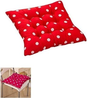 Generic Garden Chair Seat Pad - Red