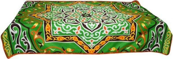 Other Rectangular RTB004 Khayameya Table Cloth - Green