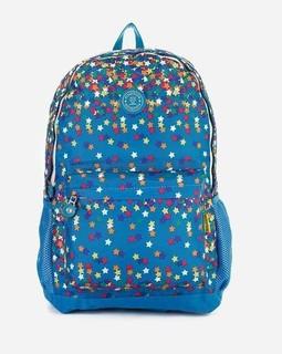 Fido Dido Stars Backpack - Dark Turquoise
