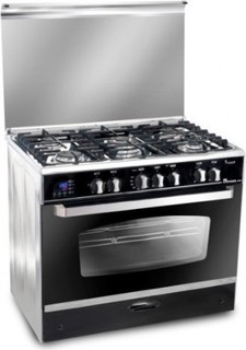 Unionaire C6090SS-DC-511-IDSC-S i Cook Smart Stainless Steel 5 Burners Gas Cooker - 60 90 cm