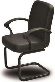 El Helow Style Waiting Chair - Black