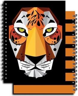 YM Sketch 0106 Tiger - Notebook A5 Side Wire