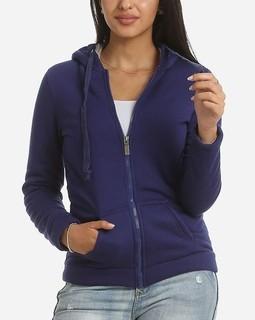 Ravin Solid Sweatshirt - Navy Blue