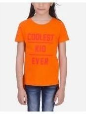 Andora Coolest kid T-Shirt - Orange