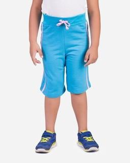 Andora Side Strip Shorts - Turquoise