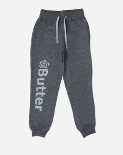 Andora Girls Printed Sweatpants - Grey