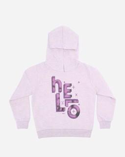 Andora Girls Hooded Neck Sweatshirt - Purple