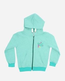 Andora Hooded Neck Sweatshirt - Aqua Green