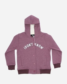 Andora Hooded Neck Sweatshirt - Burgundy