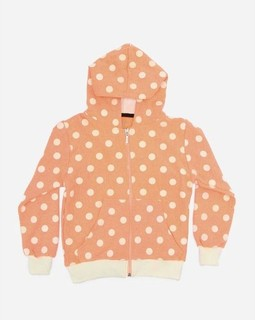 Andora Hooded Neck Sweatshirt - Orange