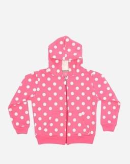 Andora Hooded Neck Sweatshirt - Rose