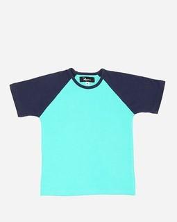 Andora Back Printed T-Shirt - Aqua