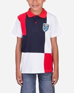 Andora Kids polo shirt - Red