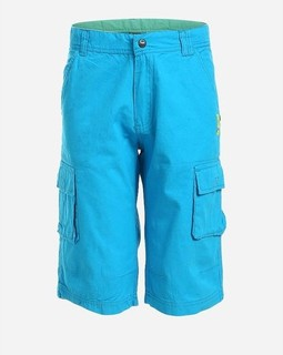 Coccodrillo Teens Solid Shorts - Turquoise