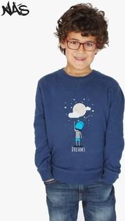 Nas Trends Boys Dreams Sweatshirt - Blue