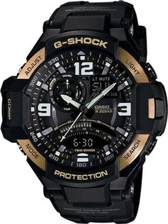 Casio GA-1000-9G Resin Watch - For Men - Black