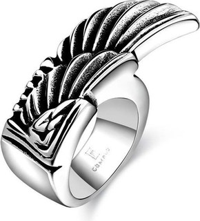 Fashion 316L Stainless Steel Ring - Silver