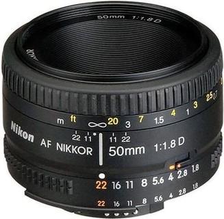 Nikon Nikor Lens AF Nikkor 50mm f 1.8D for Nikon DSLR Cameras