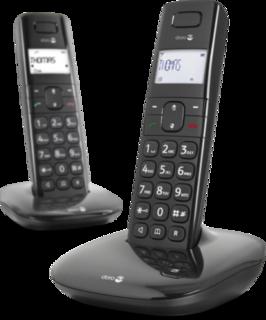 DORO COMFORT1010DUO CORDLESS DECT PHONE DUO WITH SPEAKERPHONE