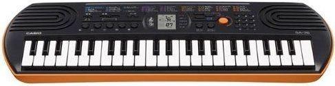 Casio 44 Mini Size Keys, 100 Built in Tones, Keyboard (Model SA76H2)