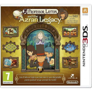 Nintendo Professor Layton and the Azran Legacy