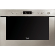 Whirlpool built in microwave oven: stainless steel - AMW 498 IX