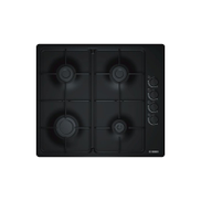 Bosch Gas Hob 4 Burner 60 cm Black Color: PBP6C6B80Q