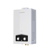TORNADO Gas Water Heater 10 Litre Digital In White Color For Natural GHM-C10BNE-W C10BNE