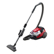 HITACHI Vacuum Cleaner 2200 Watt In Red x Black Color with Nano Titanium Hepa Filter and Dusting Brush CV-SE22V