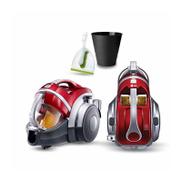 LG Bagless Vacuum Cleaner, 2000 Watt, Red - VK7320NHAR
