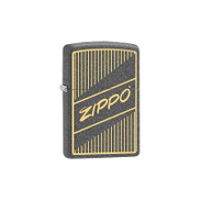 Zippo Vintage Lighter Black ZP-29219