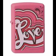 Zippo Lighter LOVE Design ZP-238